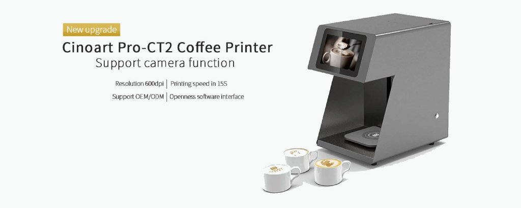 The newest coffee printer