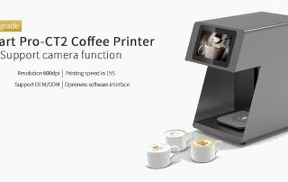 The newest coffee printer