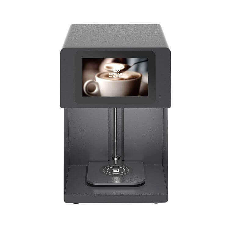 latte 3d art coffee printer