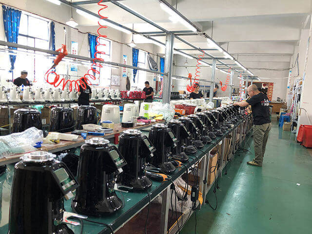 jiexin factory production line