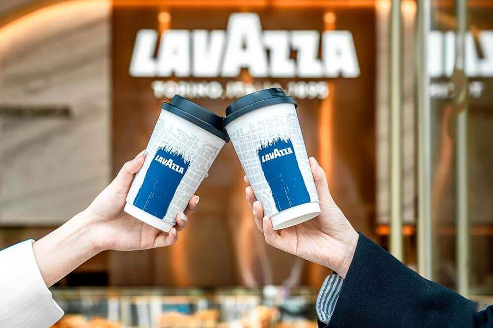 Lavazza flagship coffee together