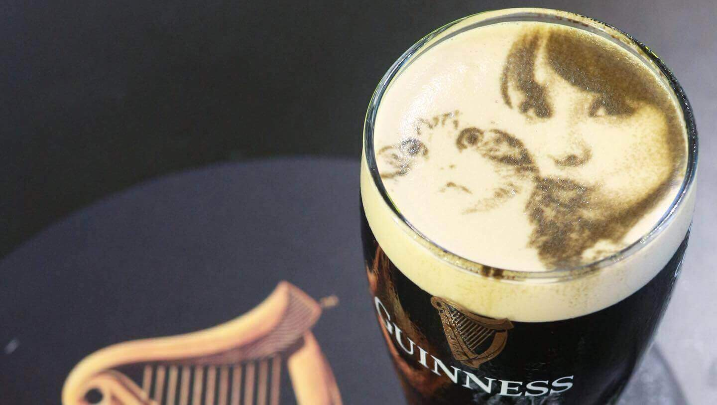 coffee priner on guinness