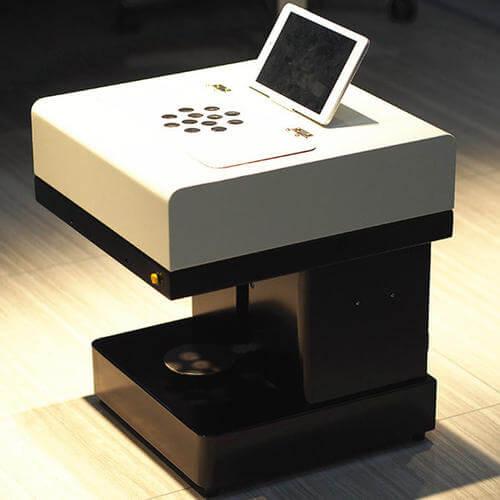 coffee printer machine without pad