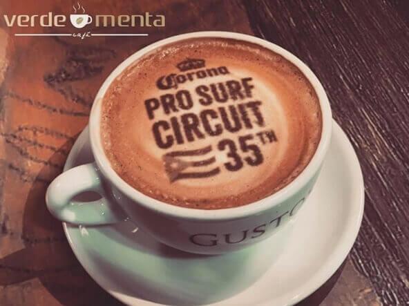 coffee printer on latte