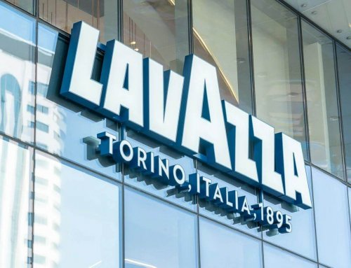How is the first Lavazza flagship store in China looks like?