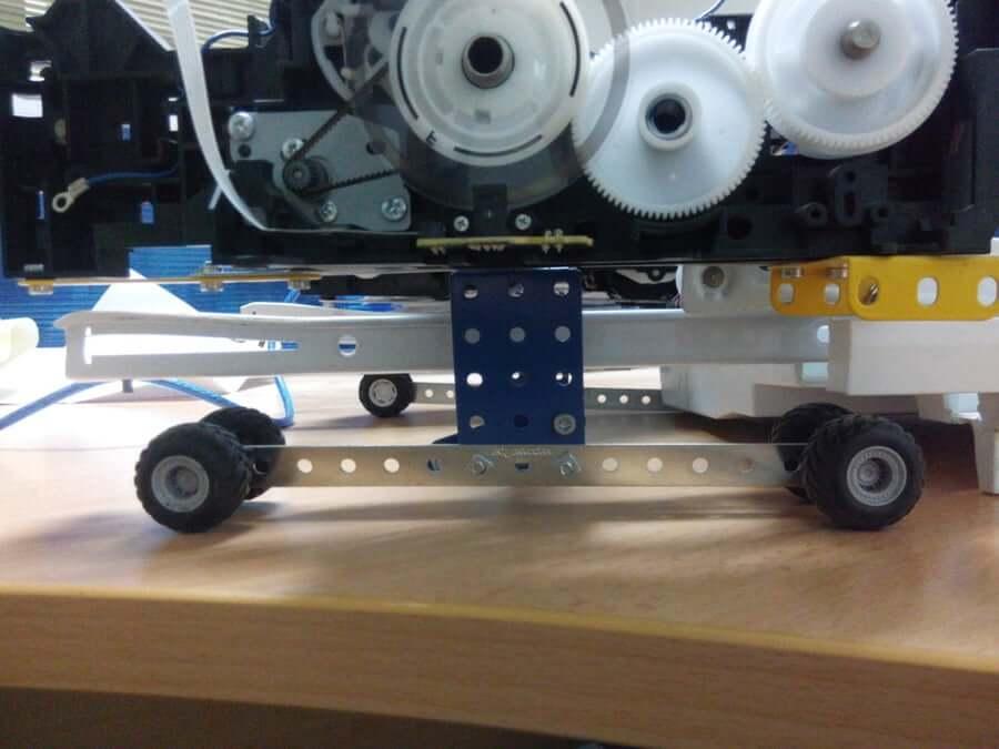 step2 coffee printer machine