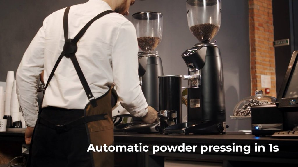 automatic tamper tamp coffee