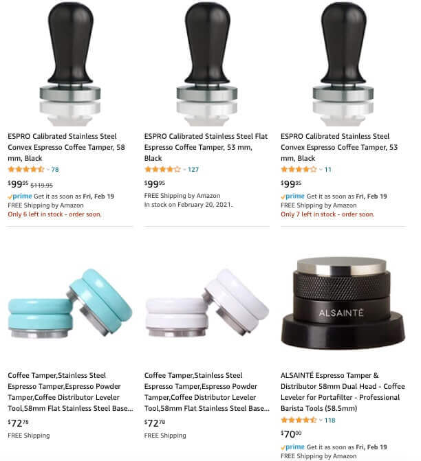 coffee tamper amazon