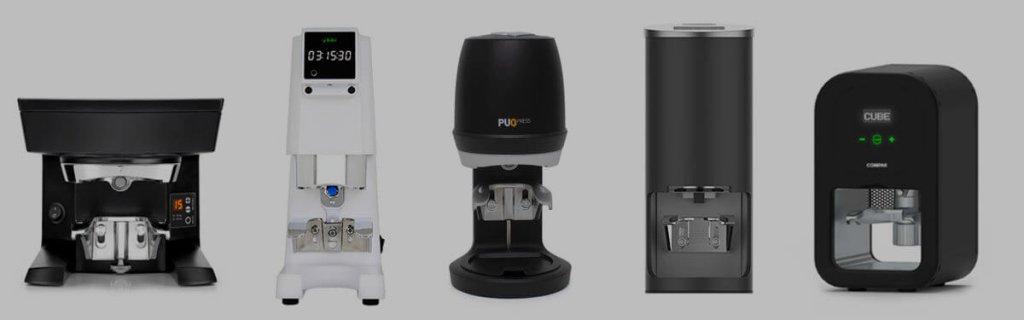 puqpress cinoart automatic tamper cube kilo